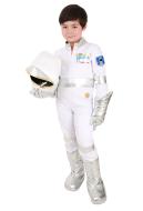 Kind Weiß Astronauten Kostüm