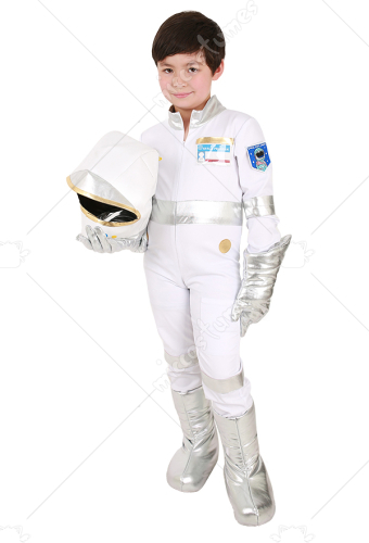 Child White Astronaut Costume
