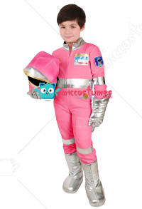 Child Pink Astronaut Costume