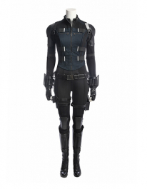 Super Heroine Black Widow Fullset Cosplay Costume Inspired by Avengers: Infinity War Order to Made (Not Including Shoes)