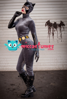 Superhero Cosplay Suit Costume Inspired by Batman Anime Catwoman Movie Make to Order