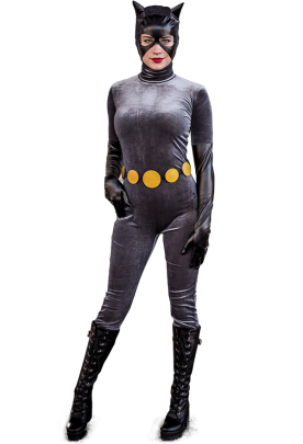 Batman Anime Catwoman Cosplay Suit Costume