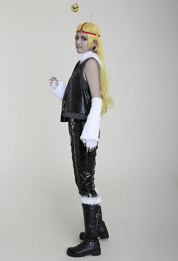 D.Gray Man Noah Jasdero Lederweste Cosplay Kostüm Mantel