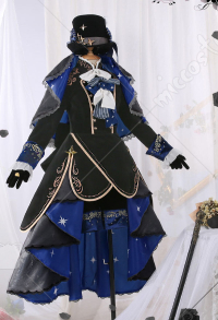 Black Butler Ciel Phantomhive 13th Anniversary Cosplay Costume Victorian Court British Style Outfits