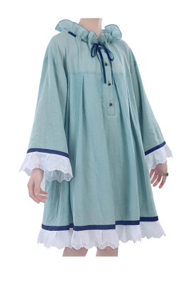 Black Butler Ciel Phantomhive Nightdress Blue Sleepwear with Two Colors Including the Ring