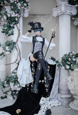 100 Sleeping Princes & the Kingdom of Dreams Black Butler Ciel Phantomhive Cosplay Costume