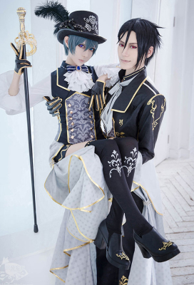 100 Sleeping Princes & the Kingdom of Dreams Black Butler Ciel Phantomhive Cosplay Costume