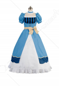 Black Butler Costume de Cosplay Elizabeth 2017 Version Théâtrale Book of the Atlantic