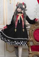 Black Butler Ciel Phantomhive Sweet Lolita Dress Sailor Collar Academy Daily Cosplay Costume