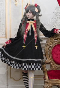 Black Butler Costume de Cosplay Ciel Phantomhive Robe Douce de Style Lolita Quotidienne