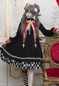 Black Butler Ciel Phantomhive Sweet Lolita Dress Sailor Collar Academy Daily Cosplay Costume