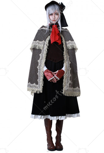 Bloodborne Doll Cosplay Costume With Hat