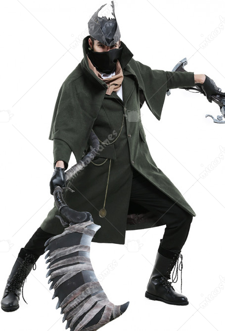 Bloodborne The Hunter Cosplay Costume for Halloween
