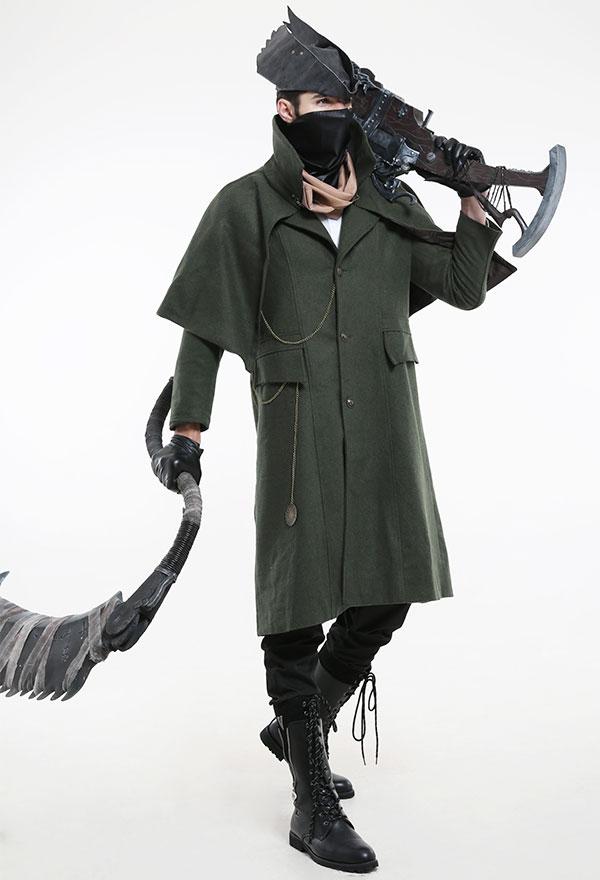 Bloodborne The Hunter Jäger Cosplay Kostüm für Halloween