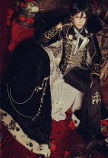 Miaowucos Black Butler x Dream100 Sebastián Michaelis Sun Rise Awakening Male Cosplay Costume
