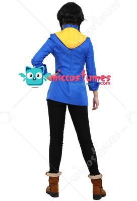 [Miccostumes x Trinket Studios] Battle Chef Brigade Mina Cosplay Costume with PU Dual Chef Knives