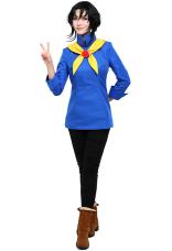 [Miccostumes x Trinket Studios] Costume Cosplay Mina de Brigade de Chef de Bataille avec PU Couteaux de Cuisine