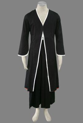 Classic Bleach Kurosaki Ichigo Black Cosplay Costume