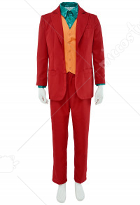 Adult Performance Uniform Joker Costume Suit Outfit Halloween Cosplay Costume