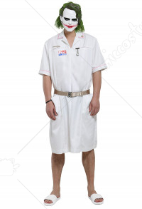 Nurse Joker Cosplay Dress Costume
