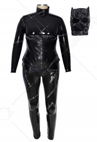 Costume de Cosplay Super-héroïne Combinaison Cat Woman Taille Plus