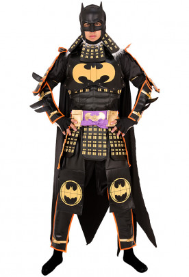 Bat Man Ninja Bruce Cosplay Costume Set Inspired by Batman with Armors