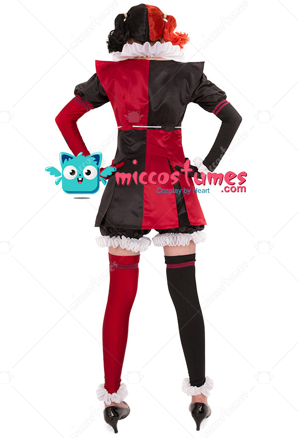 fe278ac6c3d40a Supervillain Harley Quinn Cosplay Costume Jumpsuit Inspired by Batman Ninja  Make to Order