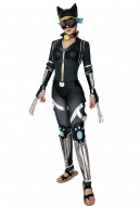 Cat Woman Ninja Selina Cosplay Costume Jumpsuit