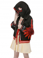 My Hero Academia Dinosaur Series Toga Himiko Hoodie Daily Coat Jacket Cosplay Costume