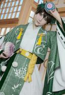 My Hero Academia Izuku Midoriya Deku Flower Festival Kimono Japanese Style Cosply Costume