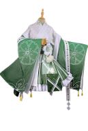 My Hero Academia Tsuyu Asui Flower Festival Kimono Japanese Style Cosply Costume