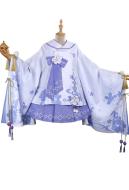 My Hero Academia Himiko Toga Flower Festival Kimono Skirt Japanese Style Cosplay Costume
