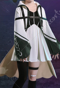 My Hero Academia Costume de Cosplay Asui Tsuyu Froppy Manteau Robe