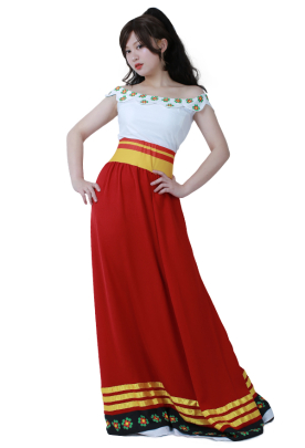 The Book of Life María Posada Cosplay Costume Dress