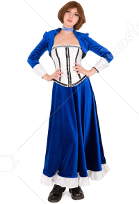 Bioshock Infinite Elizabeth Cosplay Costume Dress