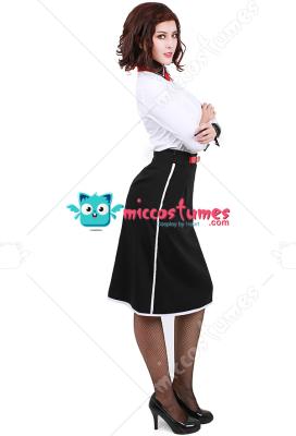 Bioshock Infinite Elizabeth Cosplay Costume Any Size  Free shipping
