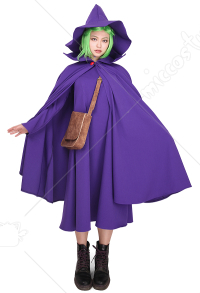 Berserk Schierke Cosplay Costume Gown Cloak