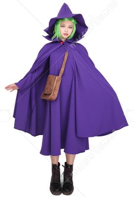 Berserk Schierke Cosplay Costume Gown Cloak