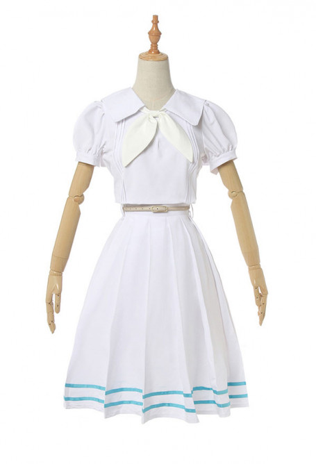 Beastars Haru White Sleeve Uniform Dress Sailor Suit Cosplay Costume