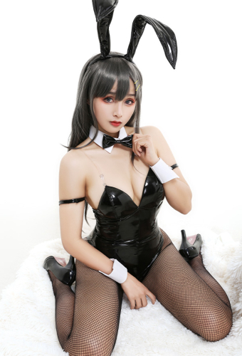 Rascal Does Not Dream of Bunny Girl Senpai Sakurajima Mai Bunny Girl Cosplay Costume