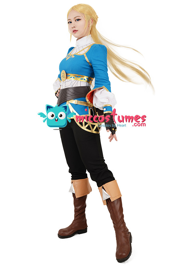 The Legend of Zelda: Breath of the Wild Princess Zelda Cosplay Kostüm