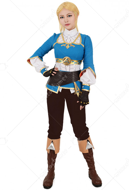 The Legend of Zelda: Breath of the Wild Princess Zelda Cosplay Costume