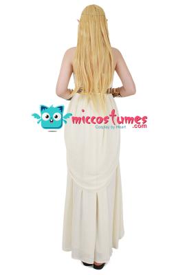 The Legend of Zelda: Breath of the Wild Princess Zelda White Dress Cosplay Costume