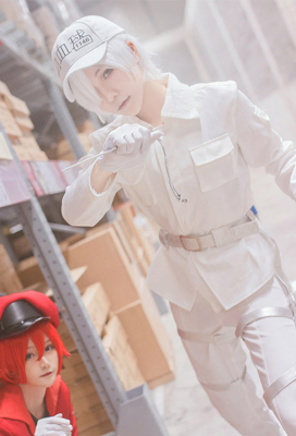 Cells at Work! U-1146 Cosplay Costume Uniform Suit