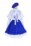 Cardcaptor Sakura Tomoyo Daidouji Girls Cosplay Dress Costume