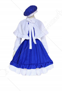 Cardcaptor Sakura Tomoyo Daidouji Girls Cosplay Dress Costume