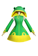 Cardcaptor Sakura Clear Card Sakura Frog Battle Suit Cosplay Costume Raincoat Costume