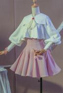 Cardcaptor Sakura Sakura Kinomoto Sweet Lolita Maid Dress Cosplay Costume
