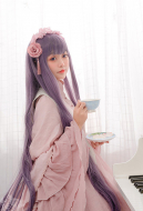 Cardcaptor Sakura Tomoyo Daidouji Sweet Lolita Maid Dress Cosplay Costume