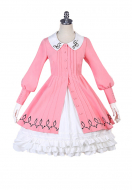 Cardcaptor Sakura Sakura Kinomoto Pink Dress Cosplay Costume